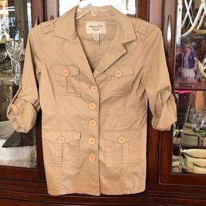 EUC American Rag Safari Jacket